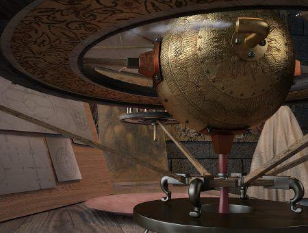 Dron Leonardo 3d