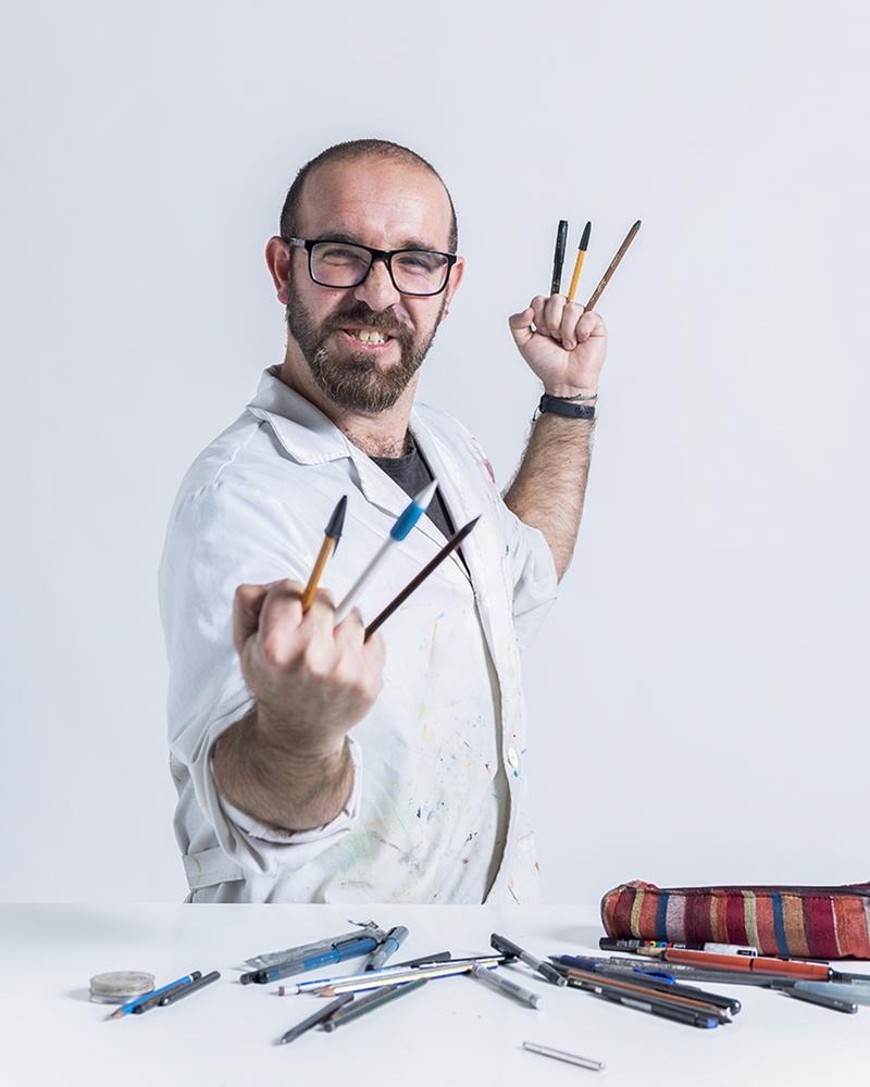 Manuel Vaca - Ilustrador y profesor en Estación Diseño
