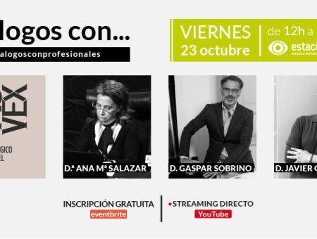 Diálogos con Ana María Salazar, Gaspar Sobrino y Javier Gallego